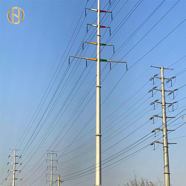 High Tension Anti-Rust 220kv Transmission Line China